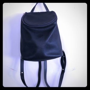 Vintage Longchamp Leather Backpack